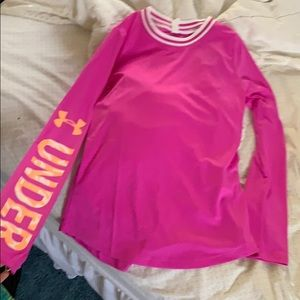 NWT under armour long sleeve workout shirt